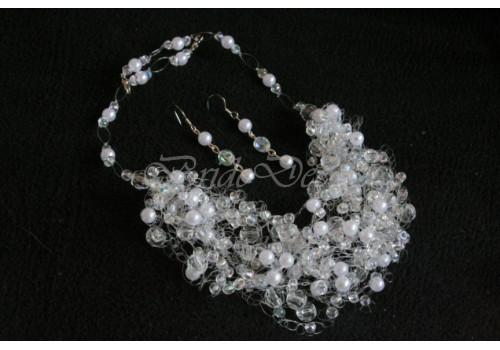 Набор свадебной бижутерии «Брызги хрусталя»